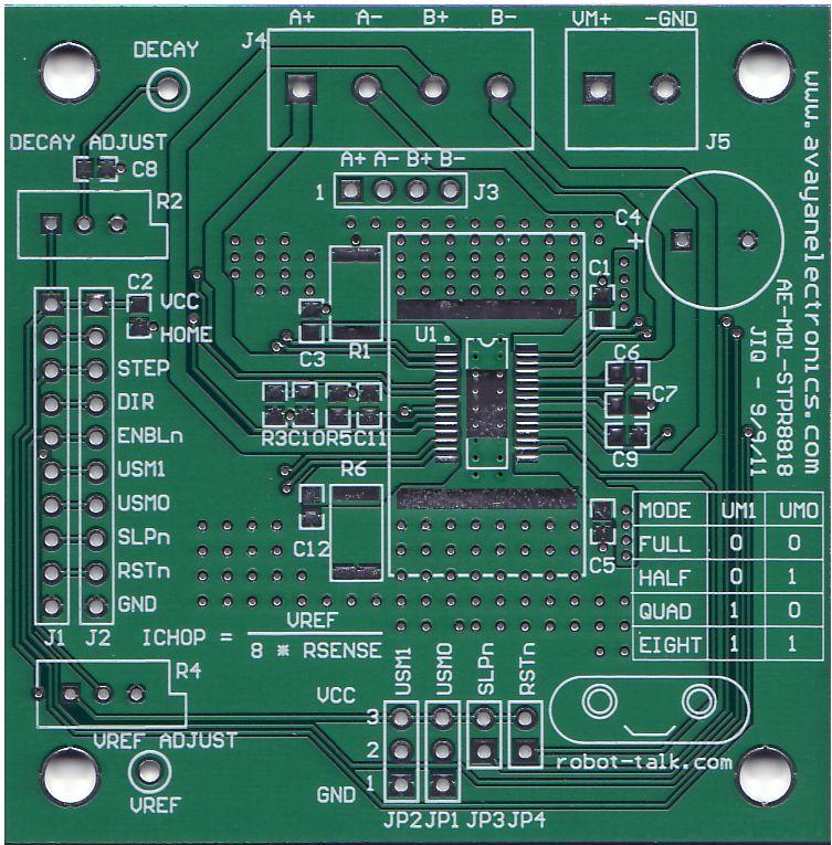 Avayan Electronics' STPR8818 board.
